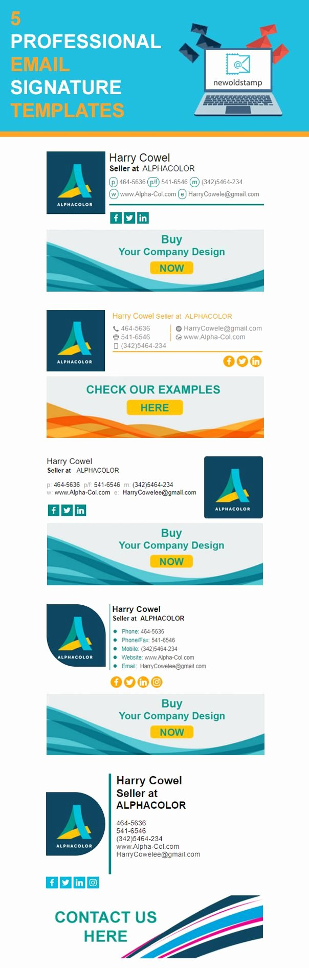 Professional Email Template Free Inspirational Professional Email Signature Templates Free Inspirational