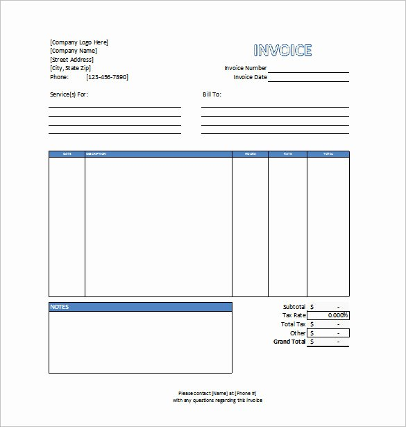 Professional Services Invoice Template Elegant Invoice Template 53 Free Word Excel Pdf Psd format