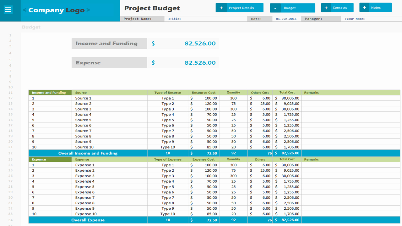 Project Budget Template Excel Inspirational Analysistabs Project Bud Premium Template Excel