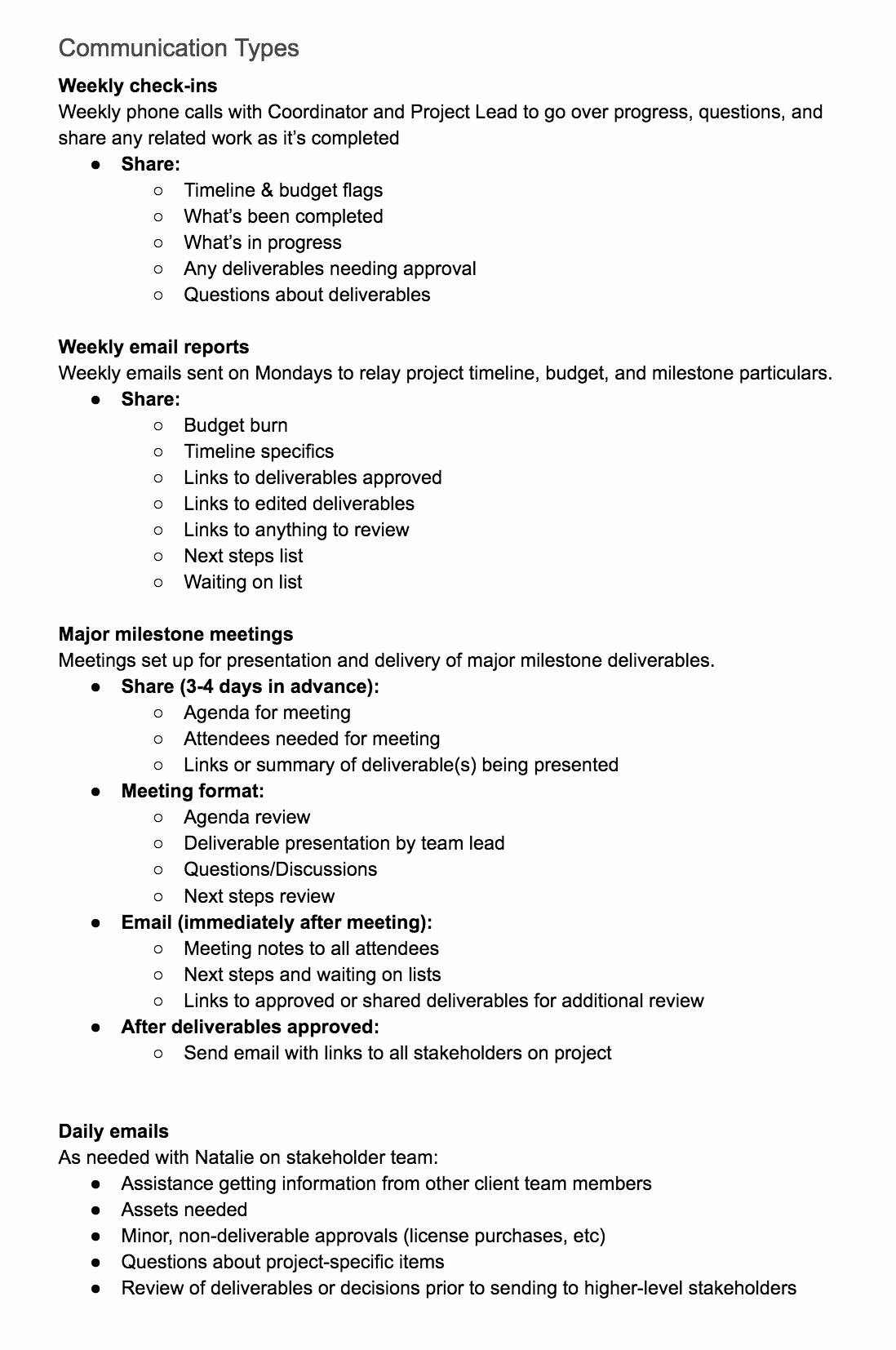 Project Communication Plan Template Unique Create A Project Munication Plan Template the