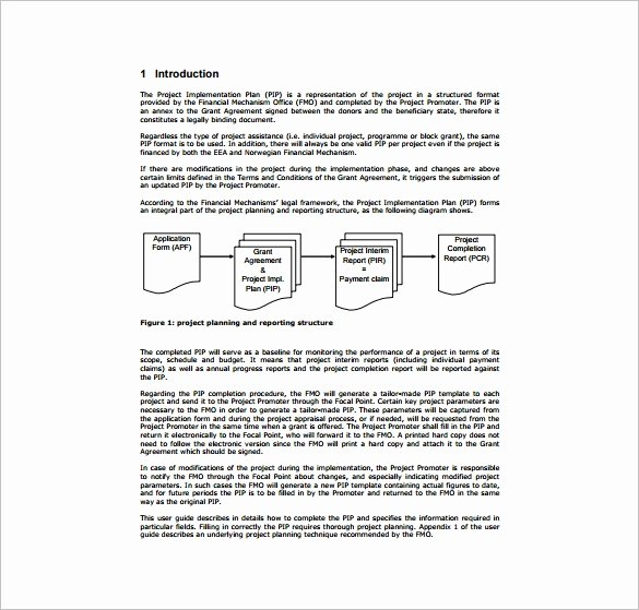 Project Implementation Plan Template Beautiful Sample Project Plan Template 11 Free Excel Pdf