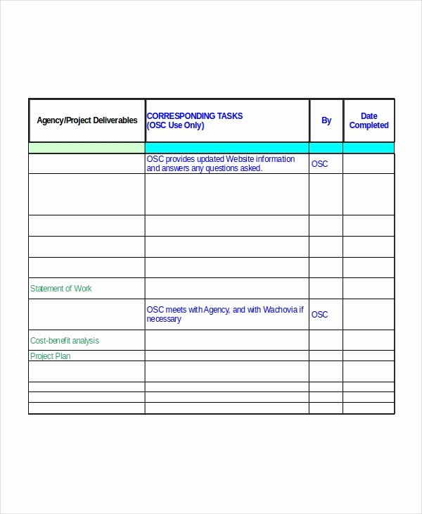 Project Implementation Plan Template Excel Elegant Excel Project Plan Template 10 Free Excel Document