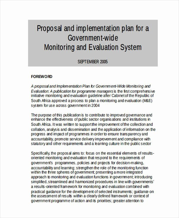 Project Implementation Plan Template Lovely 46 Examples Of Implementation Plans Word Google Docs