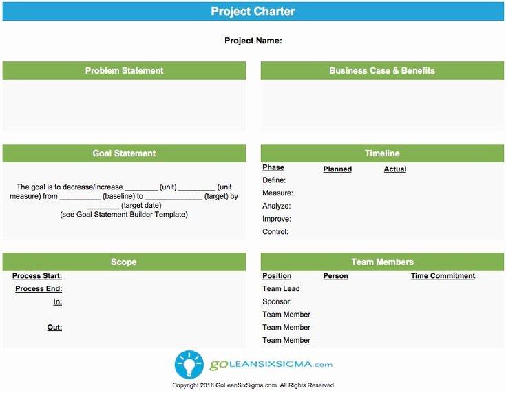 Project Management Charter Template Fresh Best 25 Project Charter Ideas On Pinterest