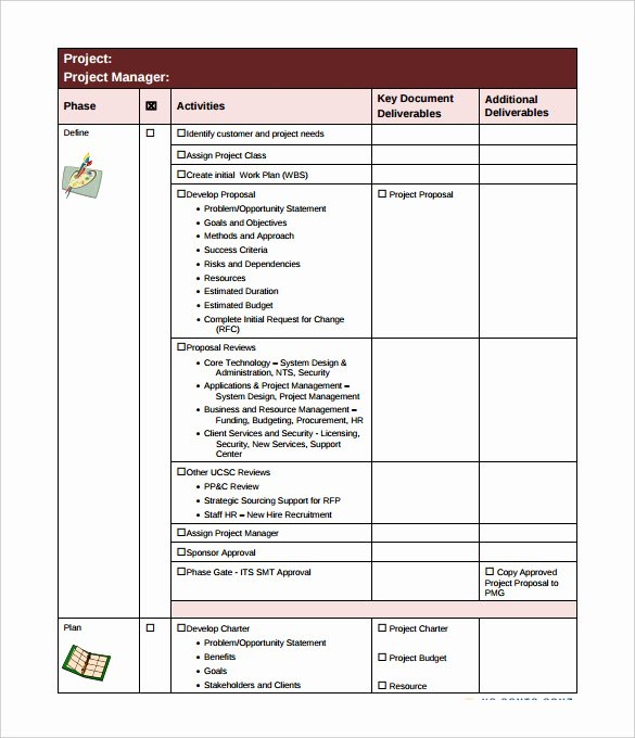 Project Management Checklist Template Fresh Checklist Template – 38 Free Word Excel Pdf Documents