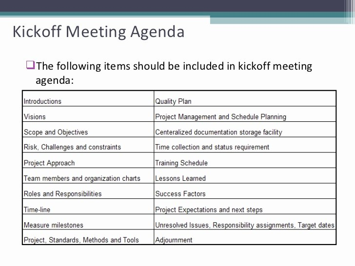 Project Management Meeting Agenda Template Awesome Project Status Meeting Agenda Template