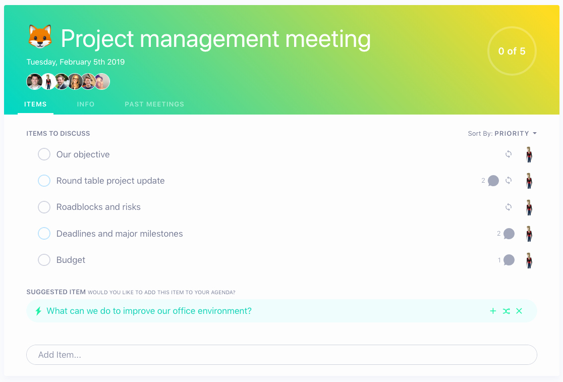 Project Management Meeting Agenda Template Beautiful 5 Things to Add to Your Project Management Meeting Agenda