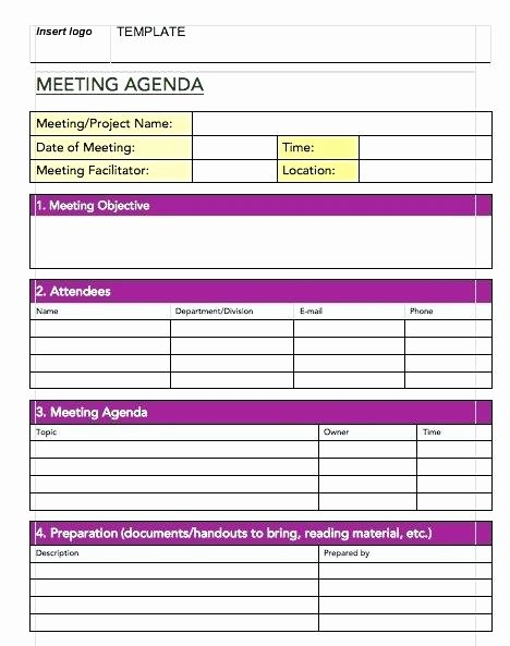 Project Management Meeting Agenda Template Fresh formal Meeting Minutes Template Templates Agenda Action