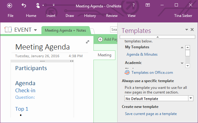 Project Management Meeting Agenda Template Luxury How You Can Use Microsoft Enote for Project Management