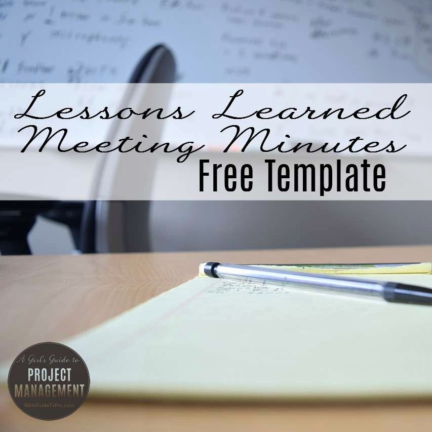 Project Management Meeting Minutes Template Luxury 10 Free Project Management Templates