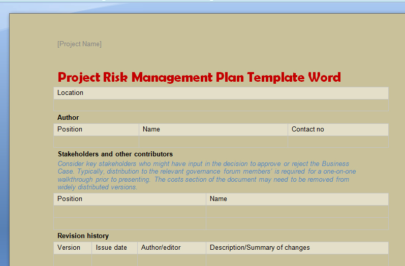 Project Management Plan Template Word Elegant Business Portfolio Templates In Word