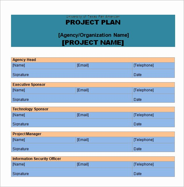 Project Management Plan Template Word Elegant Project Plan Template 14 Download Free Documents In Pdf