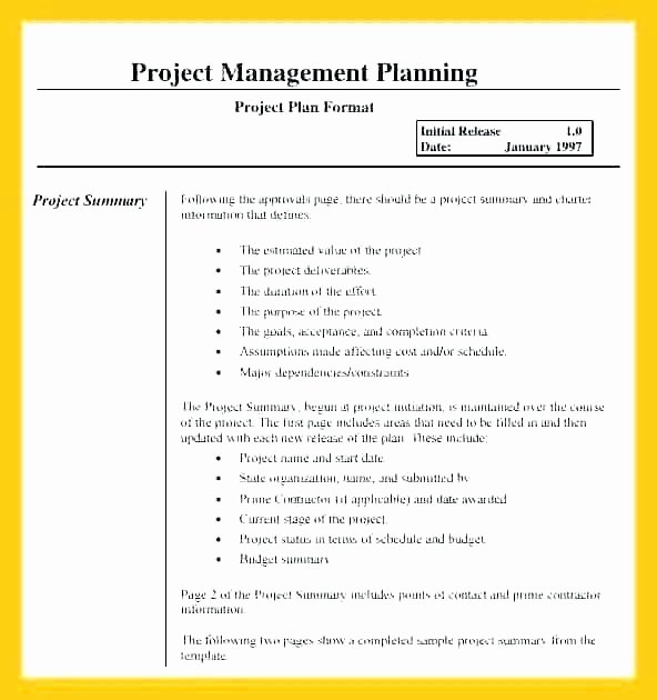 Project Management Plan Template Word New Creative Decoration Project Plan for Building A House
