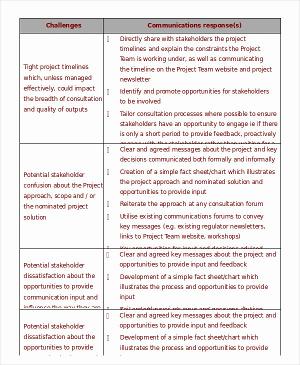 Project Management Plan Template Word New Project Management Template 10 Free Word Pdf Documents