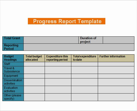 Project Management Progress Report Template Lovely Free Construction Daily Report format In Excel
