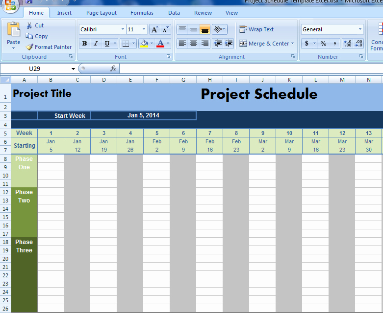 Project Management Schedule Template Best Of Project Schedule Template Excel Projectemplates