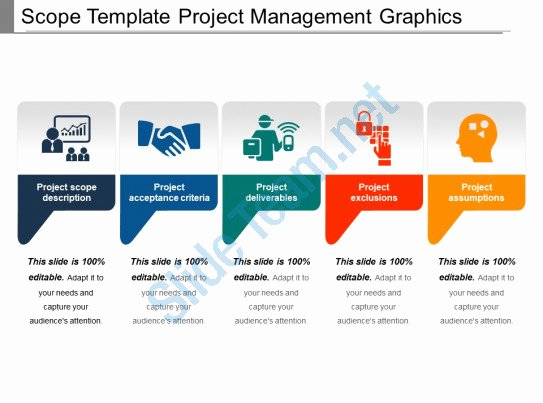 Project Management Scope Template Lovely Scope Template Project Management Graphics Ppt Icon