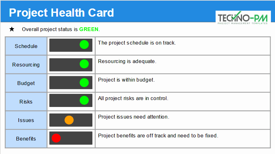 Project Management Status Report Template Inspirational Monthly Status Report Template Ppt Download Project