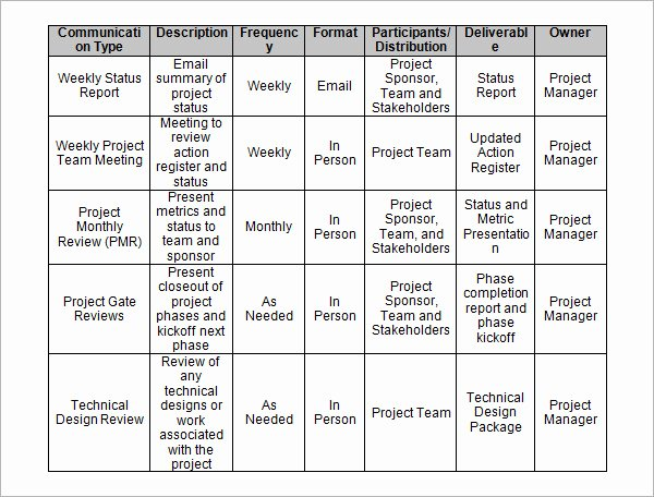 Project Management Template Word Awesome 13 Sample Project Management Templates