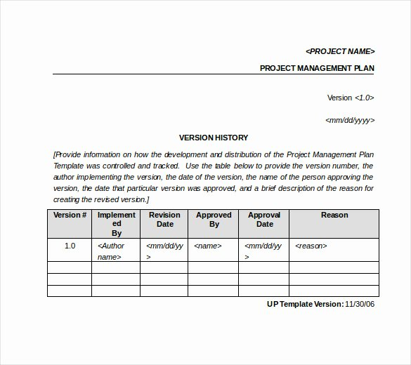 Project Management Template Word Best Of 16 Tracking Templates Doc Pdf