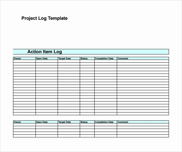 Project Management Template Word Luxury Sample Decision Log Template 9 Free Documents In Pdf Word