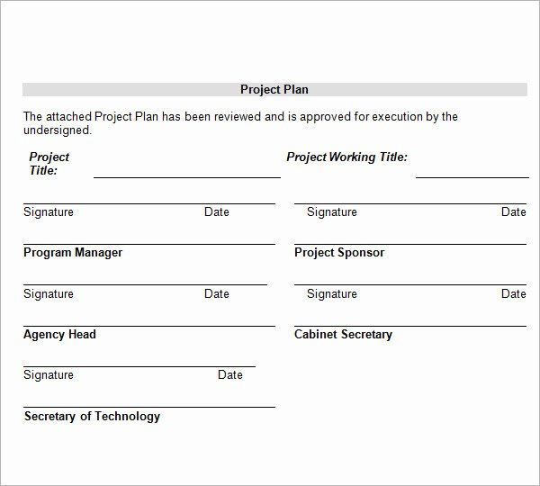 Project Management Template Word New 13 Sample Project Management Templates