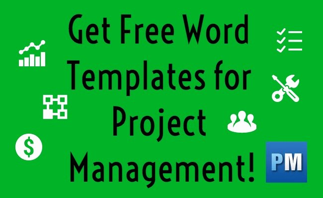 Project Management Template Word Unique top 5 Project Management Word Templates Projectmanager