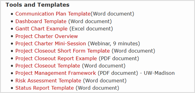 Project Management Word Template Awesome How to Manage Your Project with Word Templates
