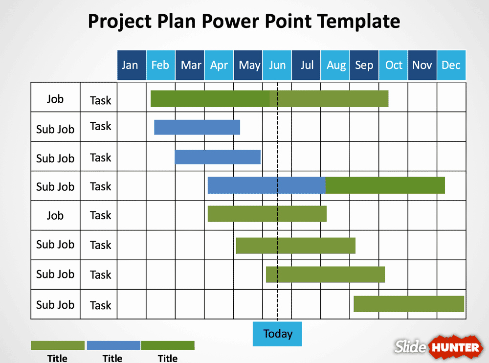 Project Plan Outline Template Luxury 5 Gantt Chart Templates Excel Powerpoint Pdf Google
