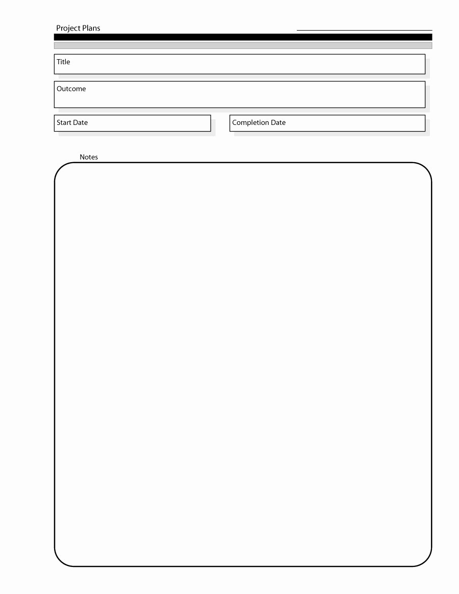 Project Plan Outline Template New 48 Professional Project Plan Templates [excel Word Pdf