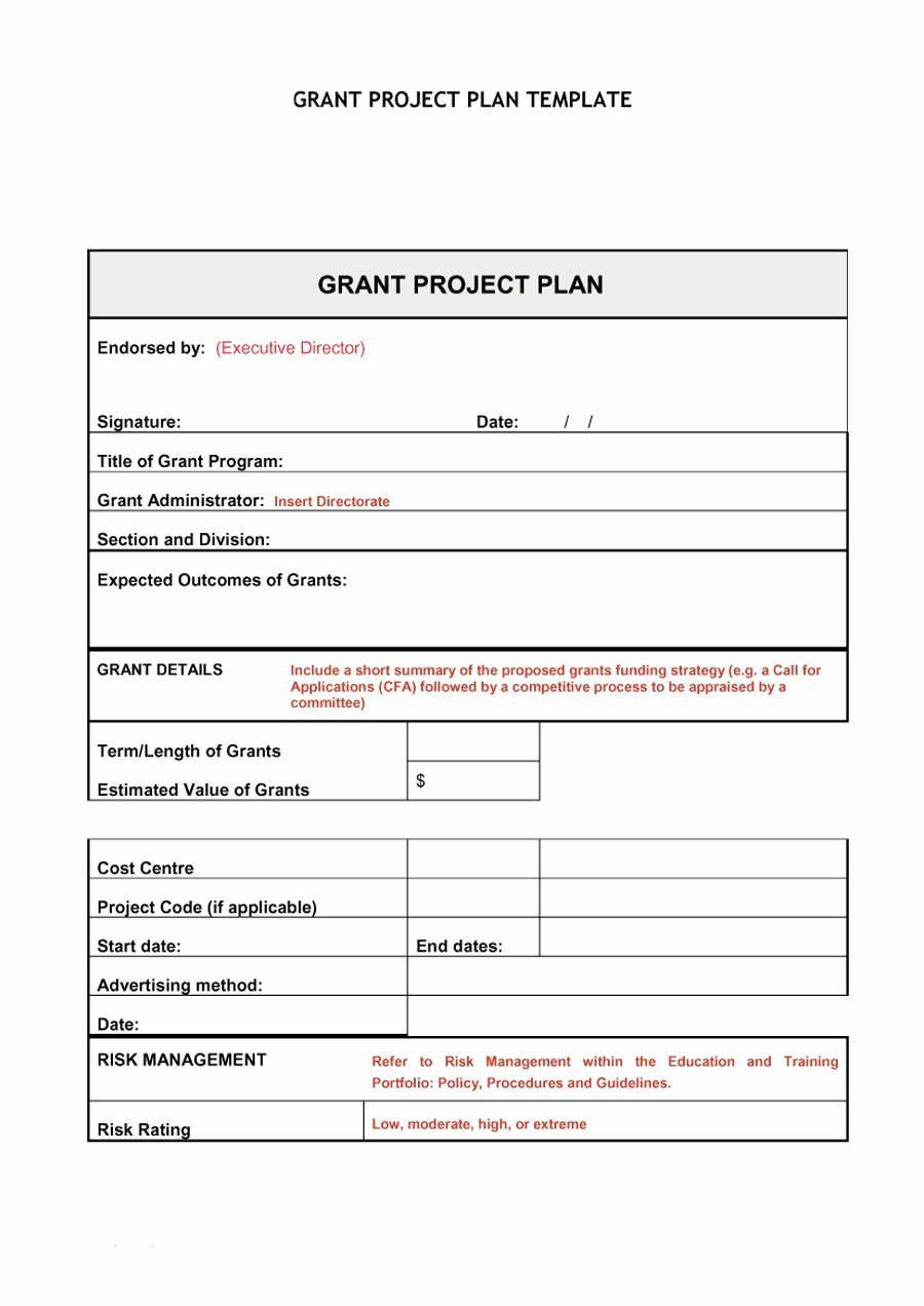 Project Plan Outline Template Unique 48 Professional Project Plan Templates [excel Word Pdf