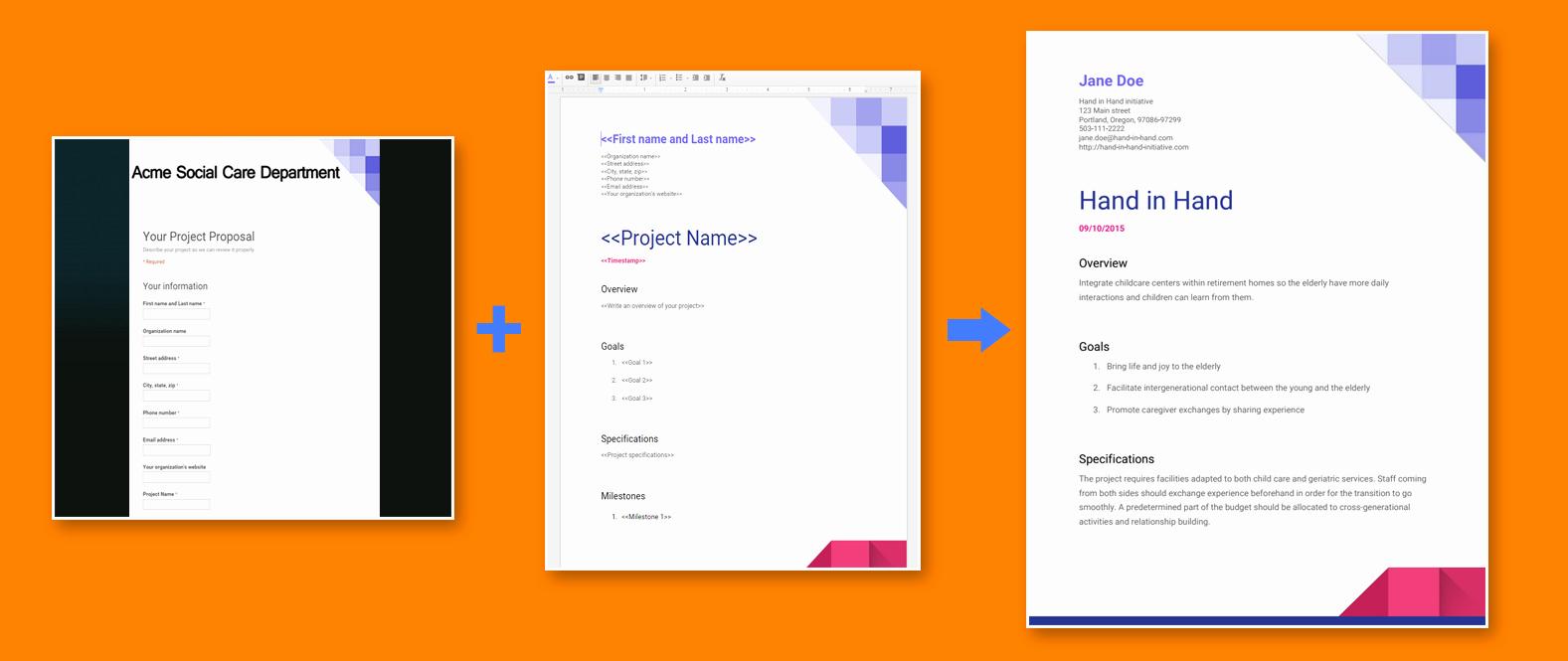 Project Proposal Template Google Docs Unique 11 Google form Invoice