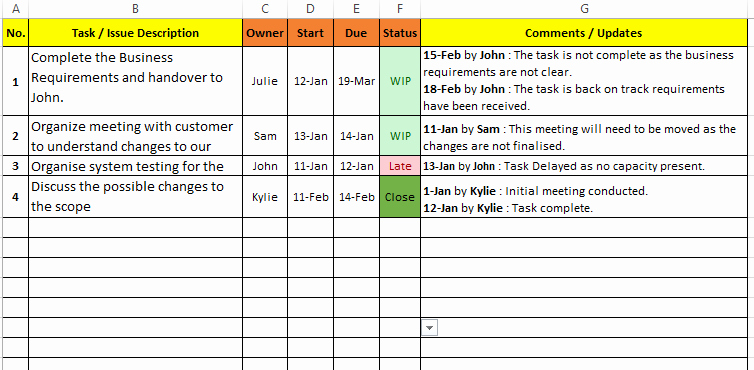 Project Task List Template Excel Awesome Task Management Excel Template Download Free