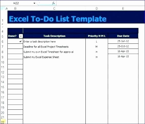 Project Task List Template Excel Best Of Excel Task List Template Project Task List Template Excel