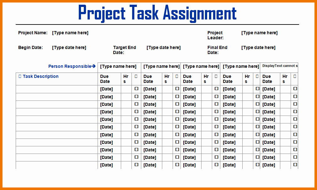 Project Task List Template New Sample Project Task List Template to Pin On