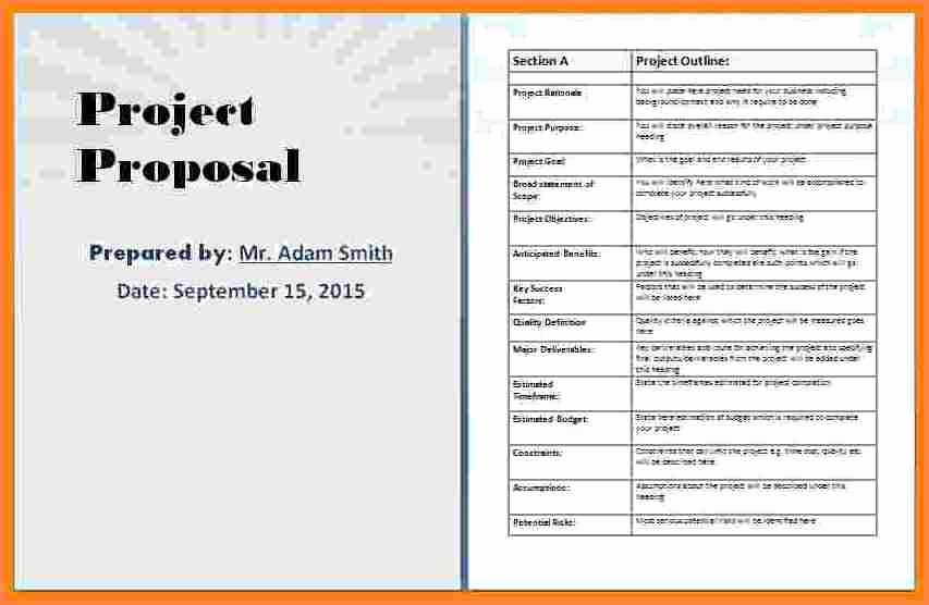 Project Template Microsoft Word Best Of 4 Business Proposal Template Microsoft Word