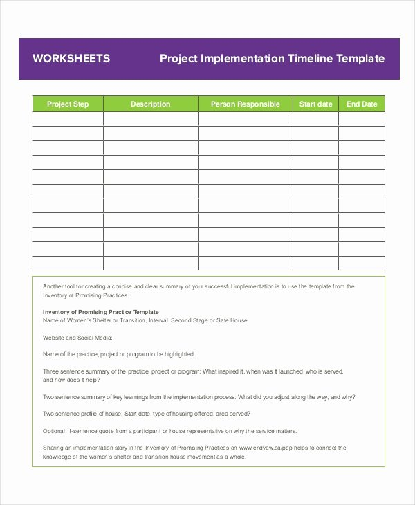 Project Timeline Template Word Fresh Project Timeline Example 8 Free Word Pdf Documents