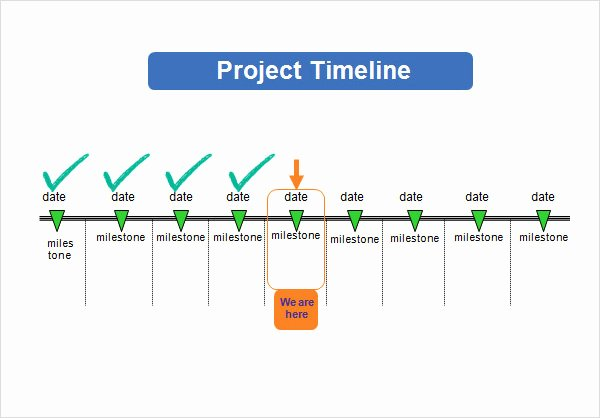 Project Timeline Template Word Lovely Project Timeline Template 14 Free Download for Word