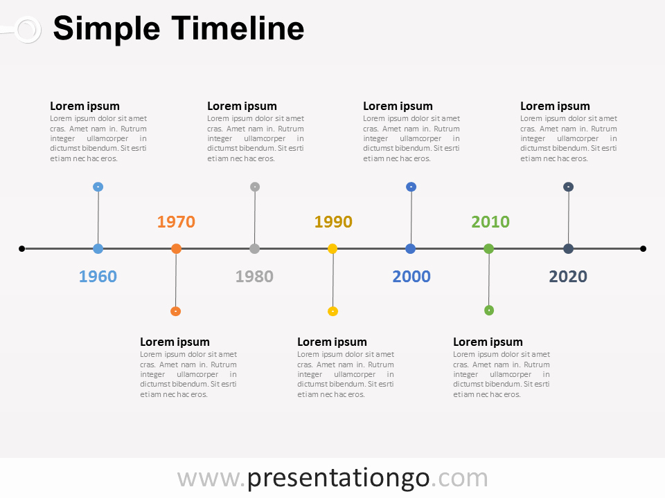 Project Timeline Template Word New Free Timelines Powerpoint Templates Presentationgo