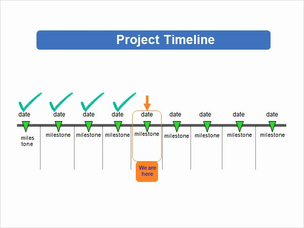 Project Timeline Template Word Unique 5 Sample Powerpoint Timeline Templates to Download