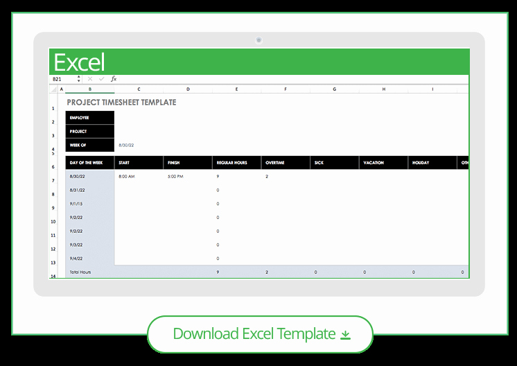 Project Timesheet Template Excel Elegant Free Excel Project Management Templates