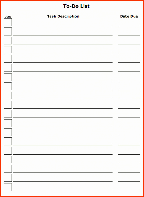 Project to Do List Template Luxury Daily Weekly Project Task List Template Excel Spreadsheet