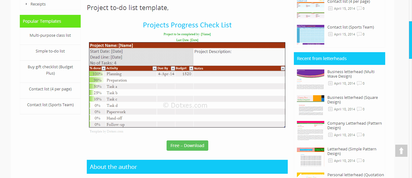Project to Do List Template New List Template Find Your One now Project to Do List