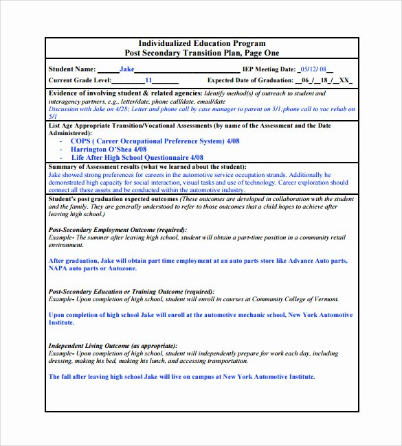 Project Transition Plan Template Lovely 9 Sample Transition Plans – Pdf Word Pages