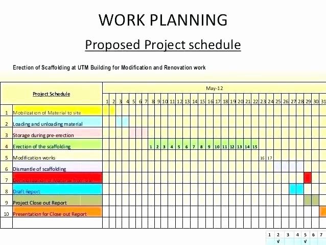 Project Work Plan Template New Project Work Template Work Sample Project Work Plan