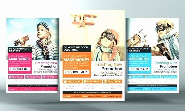 Promo Flyer Template Free Elegant Promotional Flyer Templates Free Half Page Promotional