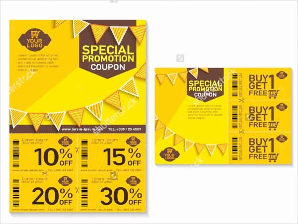 Promo Flyer Template Free Inspirational 11 Coupon Flyers