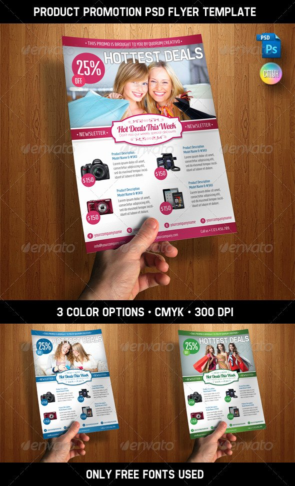 Promo Flyer Template Free Luxury 11 Free Psd Product Flyer Template Promotion