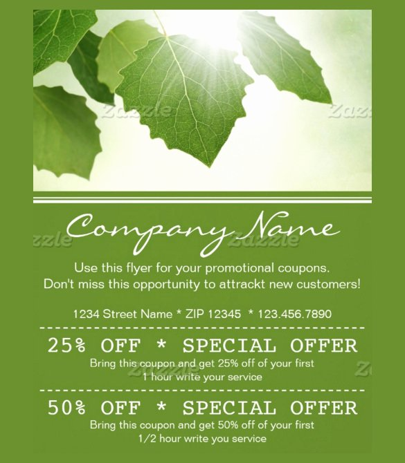 Promo Flyer Template Free Unique 20 Coupon Flyer Templates Psd Indesign