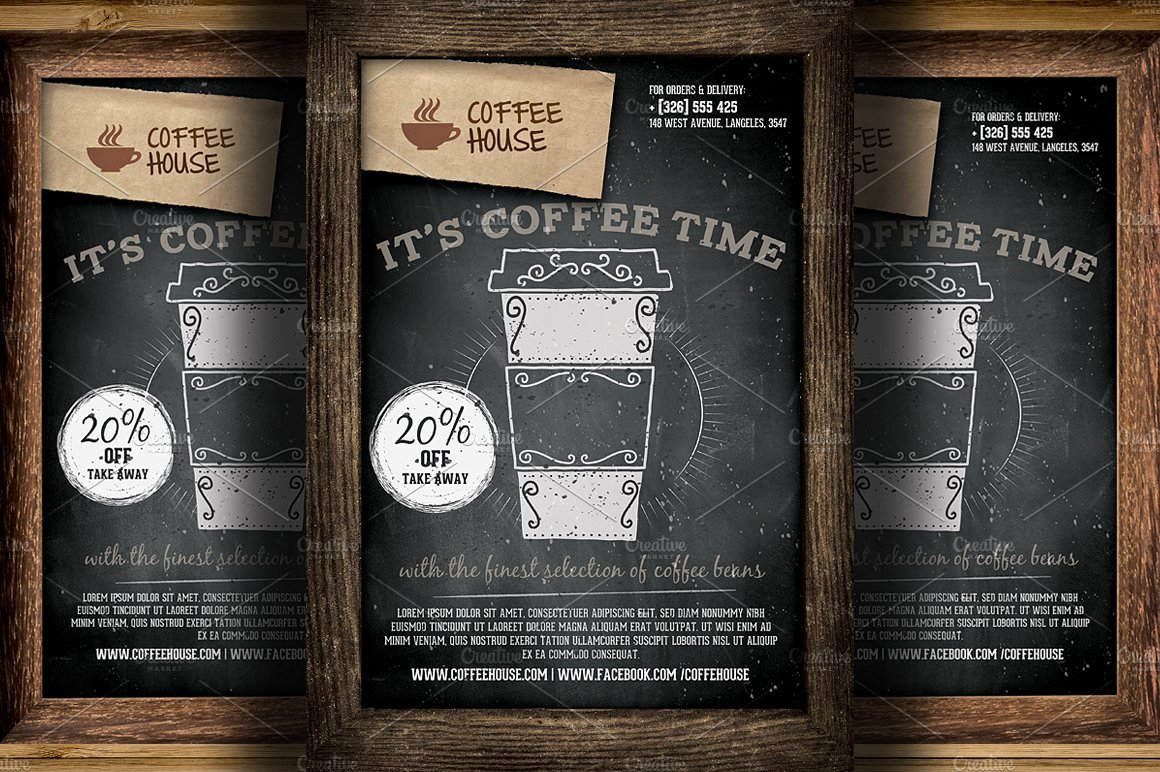 Promotional Flyers Template Free Awesome Coffee Shop Promotion Flyer Template Flyer Templates